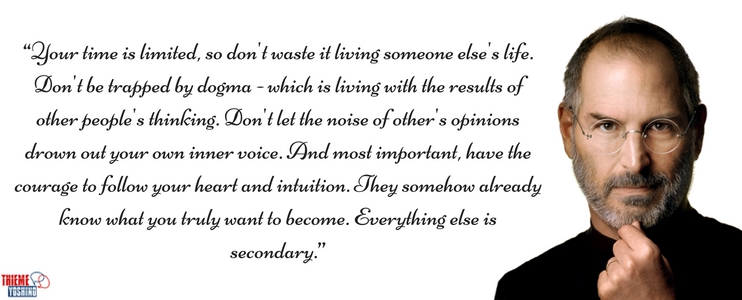 d0139c17c7d Pratique Inglês com as sábias palavras de Steve Jobs