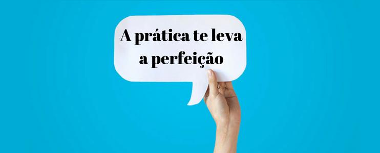 Falar inglês: Pratique