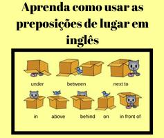 As preposições de lugar em inglês