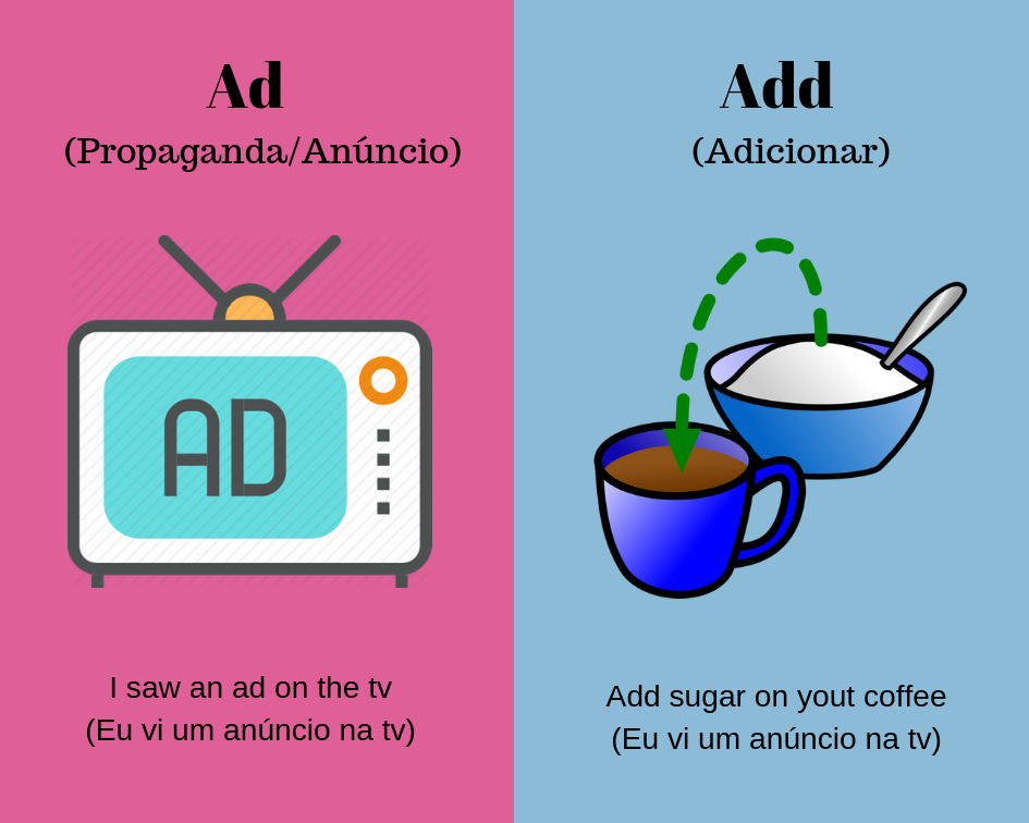 ad vs add