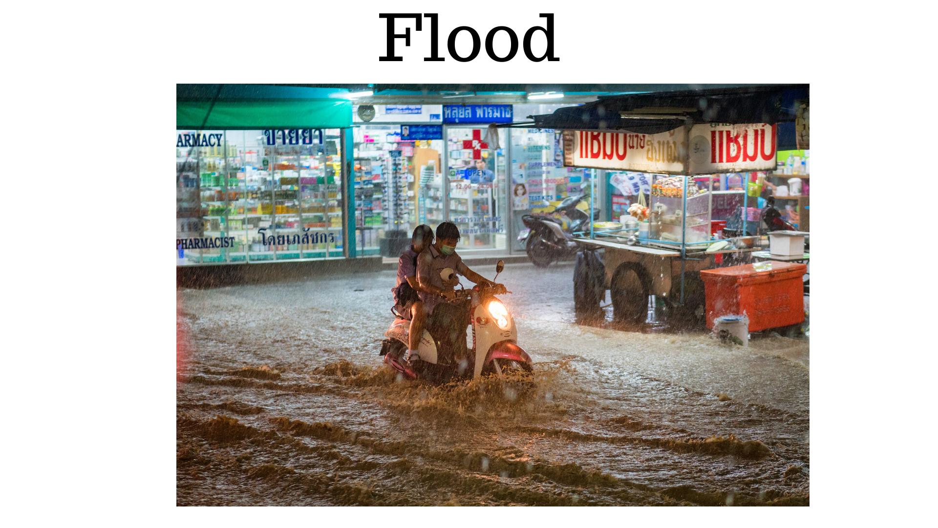 dicas para pensar em inglês - flood