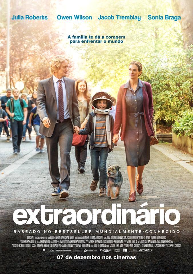 inglês com filmes: extraordinário