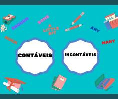 Substantivos contáveis e não contáveis em inglês